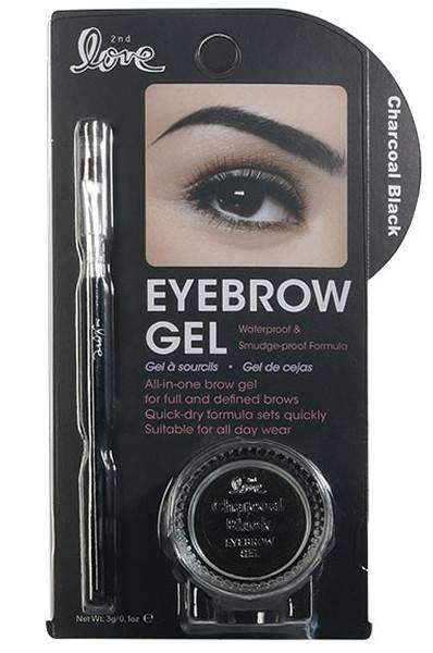 2nd Love Eyebrow Gel - Charcoal Black