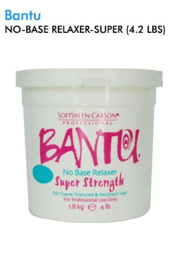 Bantu No Base Relaxer 4.2lbs - Super