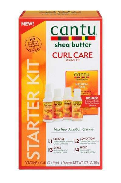 Cantu Shea Butter For Natural Hair Curl Care Starter Kit