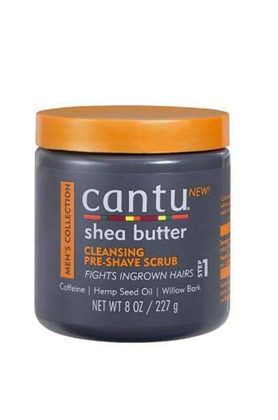 Cantu Men's Collection Cleansing Pre Shave Scrub