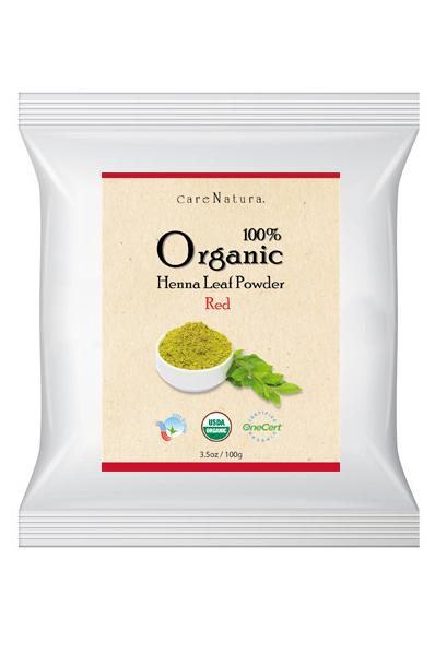 Care Natura 100% Organic Henna Leaf Powder - Red