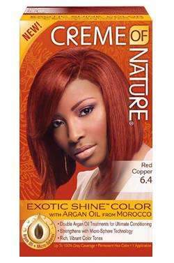 Creme Of Nature Exotic Shine Color- # 6.4 Red Copper