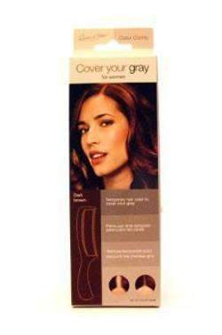 Cover Your Gray Color Comb - Dark Brown