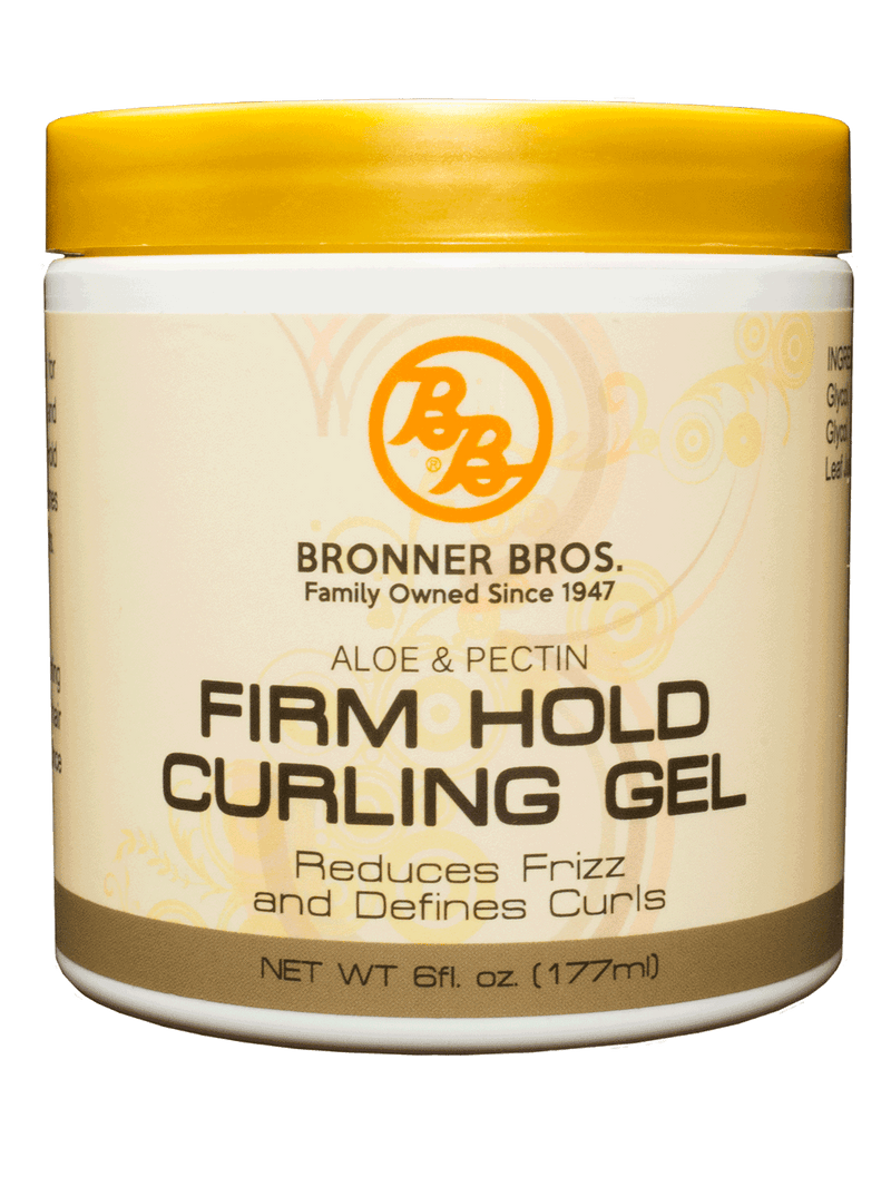 Bronner Brothers Aloe & Pectin Firm Hold Curling Gel