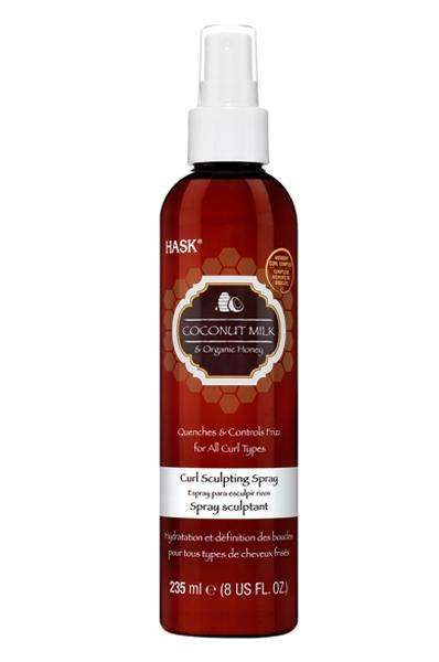 Hask Coconut Milk Organic Honey Curl Sculpting Spray