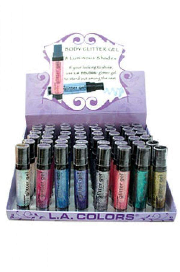 L.A. ColorsBody Glitter Gel 8 Luminous Shades