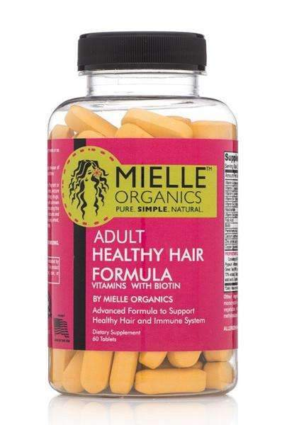 Mielle Organics Adult Healthy Hair Formula w/ Biotin 60 Tablets