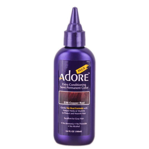 Adore Semi-Permanent Hair Color - 68 Crimson