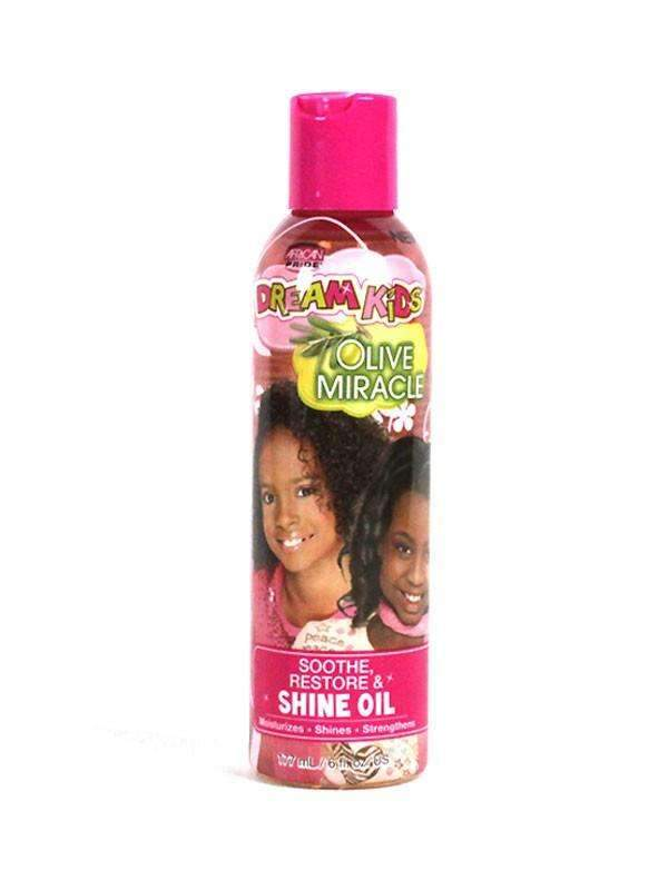 African Pride Dream Kids Olive Miracle Soothe Restore & Shine Oil 6oz