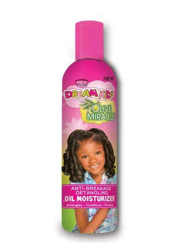 African Pride Dream Kids Olive Miracle No Lye Creme Relaxer 1 Touch Up Kit Coarse