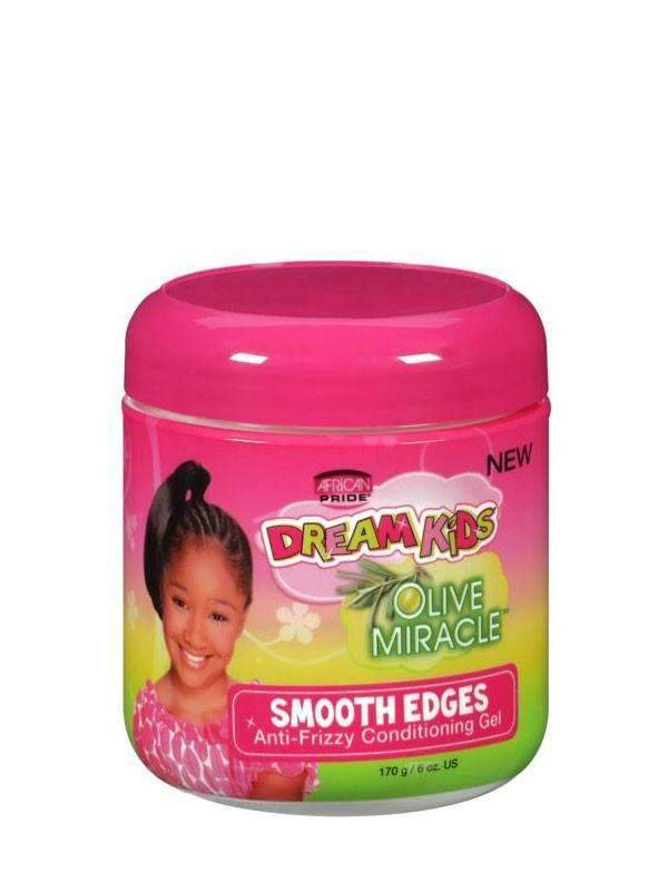 African Pride Dream Kids Smooth Edges Anti-Frizzy Conditioning Gel 6oz