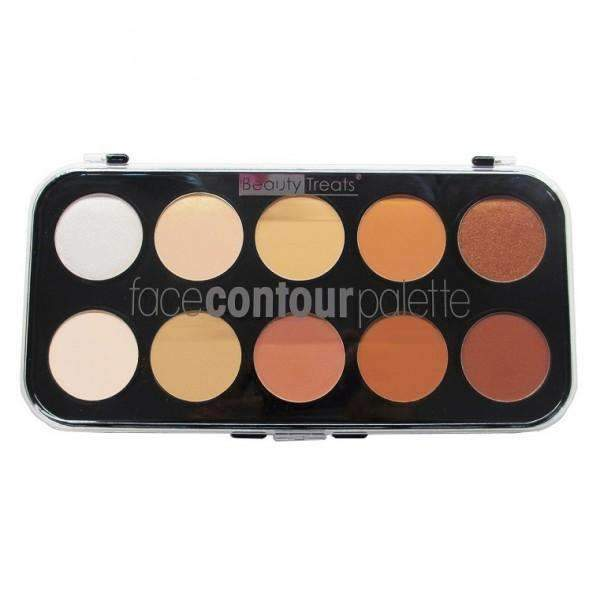 Beauty Treats 10 Color Face Contour Palette #360