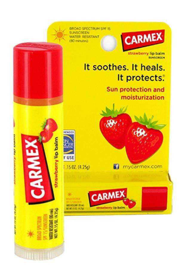 Carmex Lip Balm Stick Strawberry