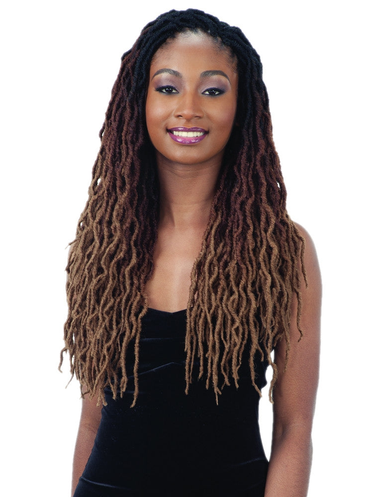 FreeTress Synthetic Crochet Braid 2X Wavy Gypsy Locs 18""