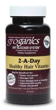 GroGanics 2-A-Day Vitamins 30 Count