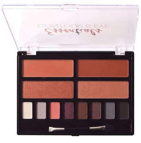 Beauty Treats Essentials Contour & Eye Palette #410 - Light