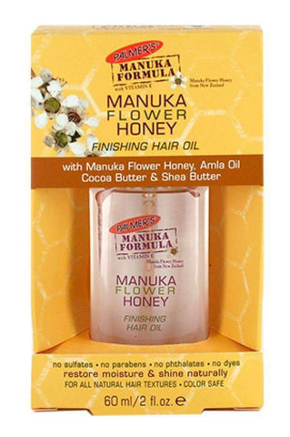 Palmer's Manuka Formula Mankua Flower Honey Finishing Hair Oil