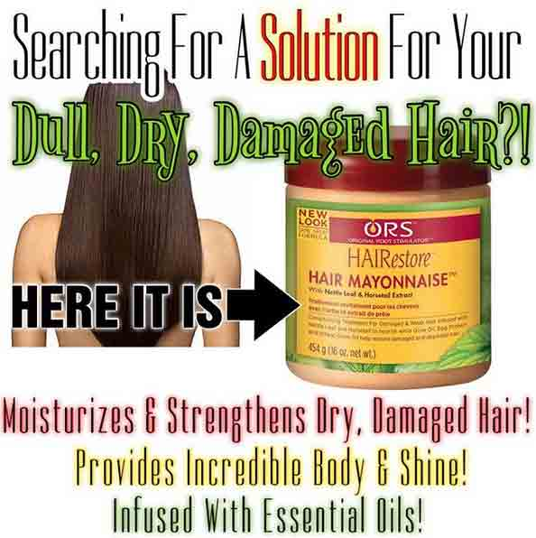 Restore and renew dry damaged hair