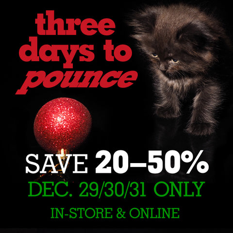 Year end sale  20-50% off