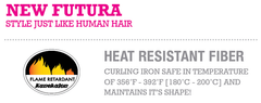 Estetica Designs Futura fiber safer for hair treatments