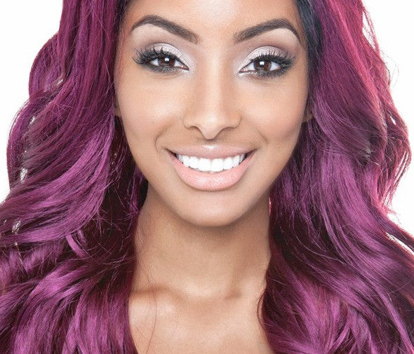 Mane Concept Brown Sugar BS502 Paris Lace-front human wig