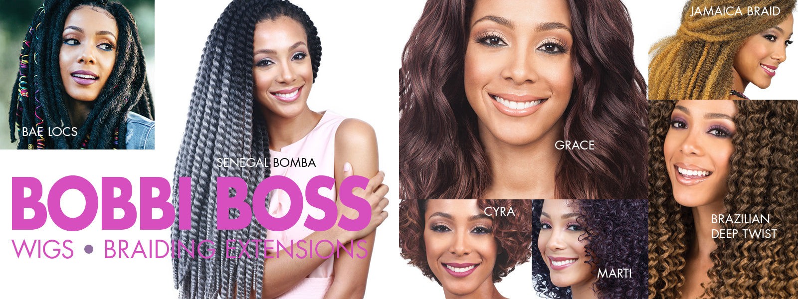 Bobbi Boss Wigs and Braiding/Crochet Extensions