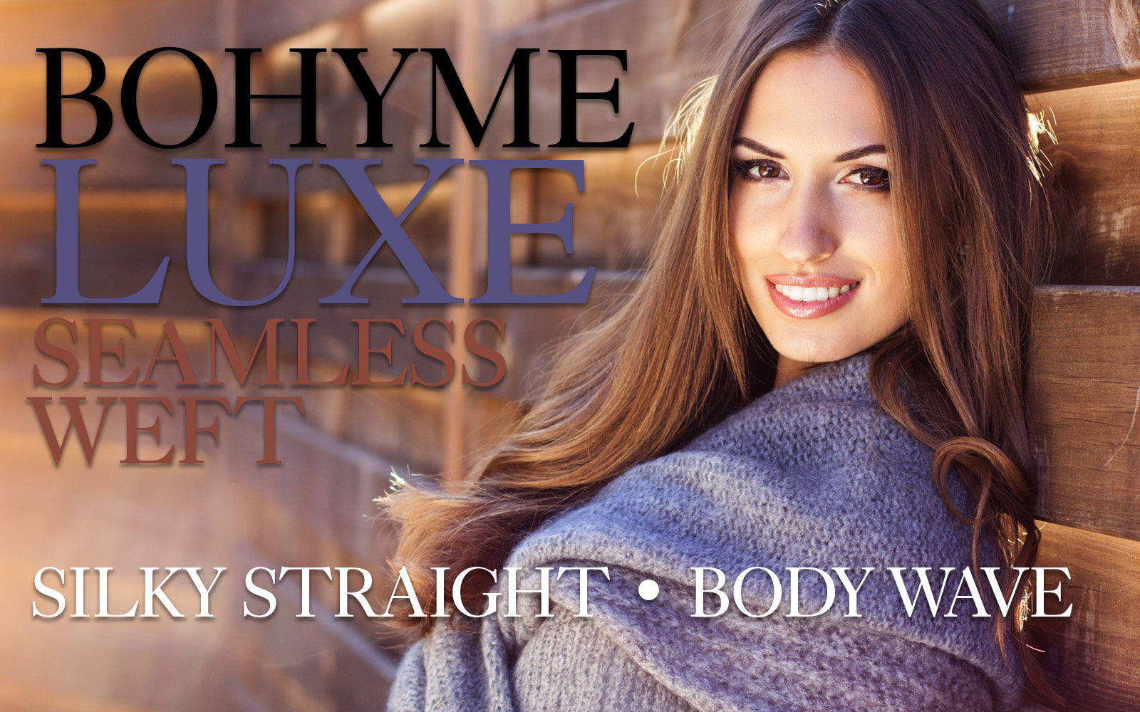 Bohyme Luxe Seamless Weft Extensions