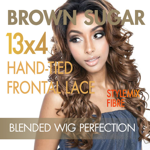 Mane Concept Brown Sugar Frontal Lace wigs