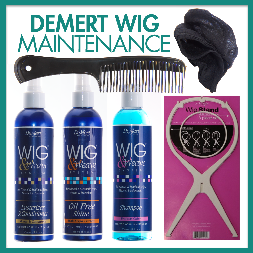 DeMert Wig Maintenance Bundle by Abantu