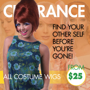 Costume Wig Clearance - Wigs from $25