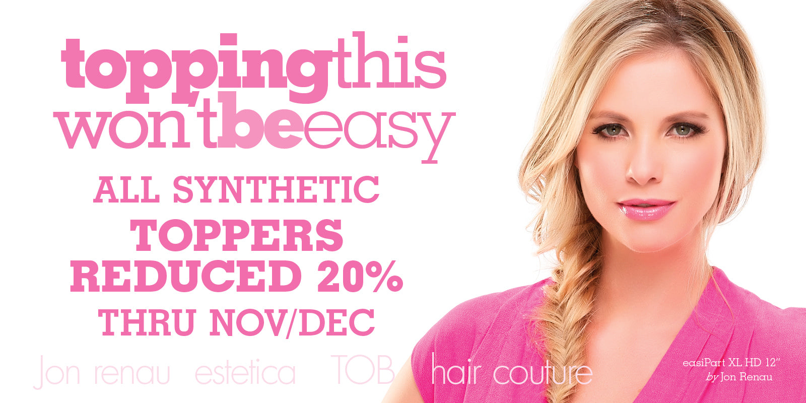 Synthetic Topper sale