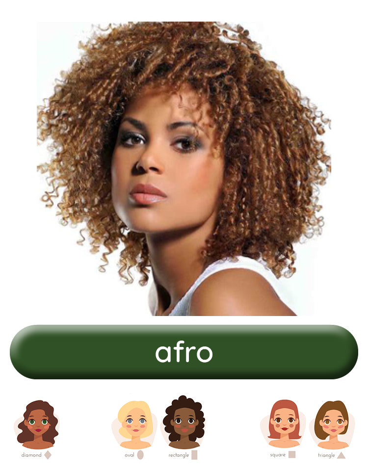 Afro wig style