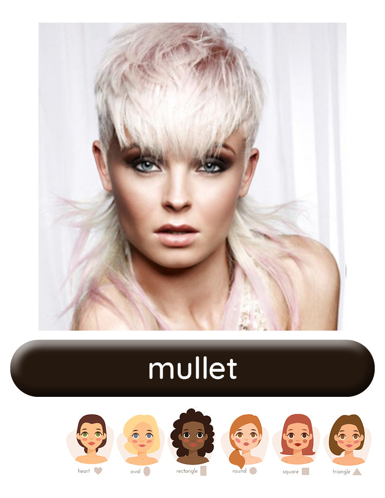 Mullet wig style