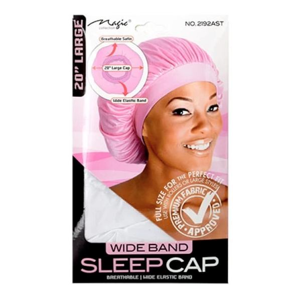 Magic Wide Band Sleep Cap Large