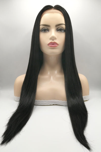 Natural Way Zanna Plus Lace Frontal Synthetic Hair Wig 1B