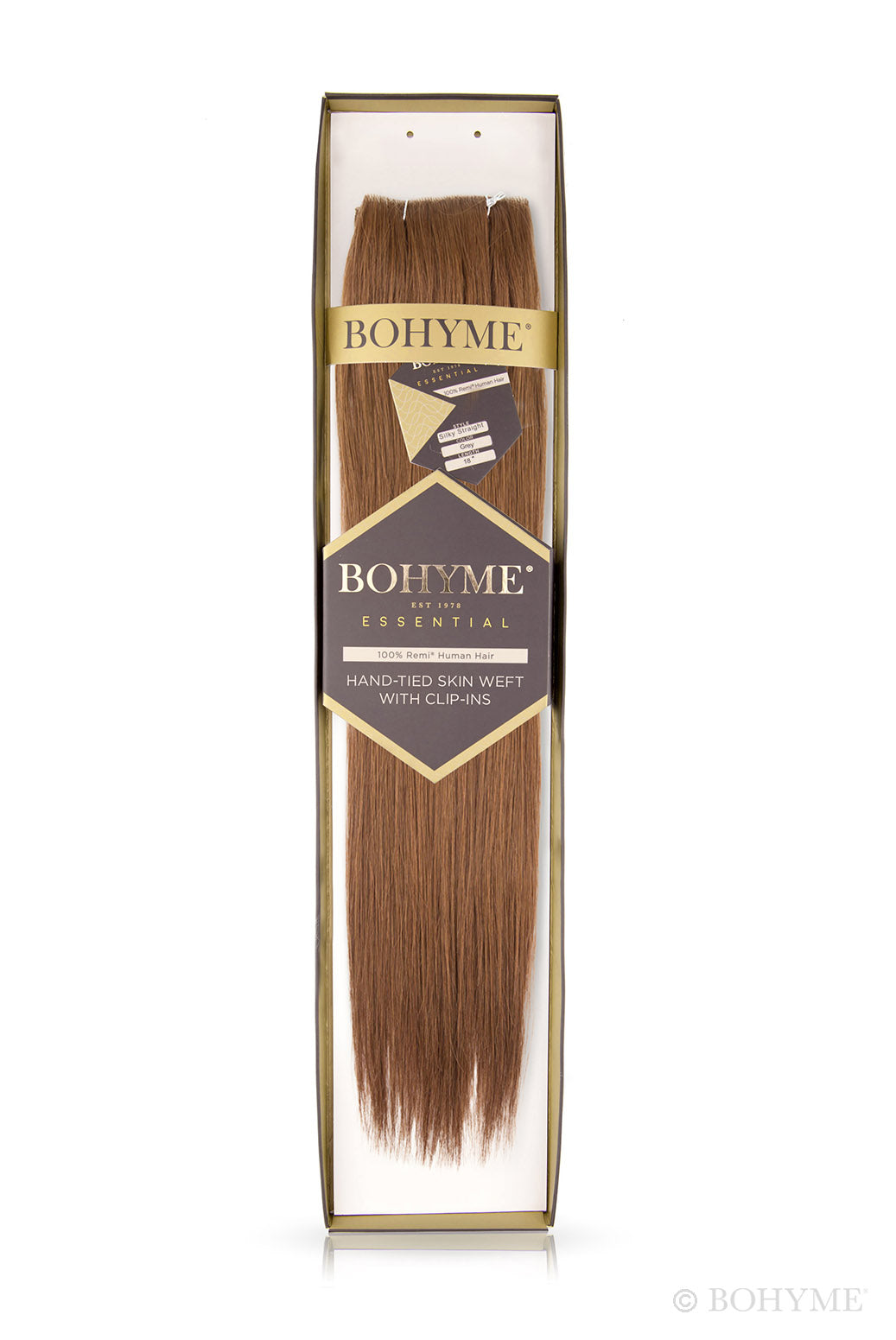 "Bohyme Essentials Collection Hand-tied Skin Weft 18"" Extensions"