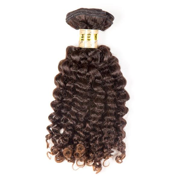 "Bohyme Birth Remi Tight Curls 14"" Extensions available at Abantu"