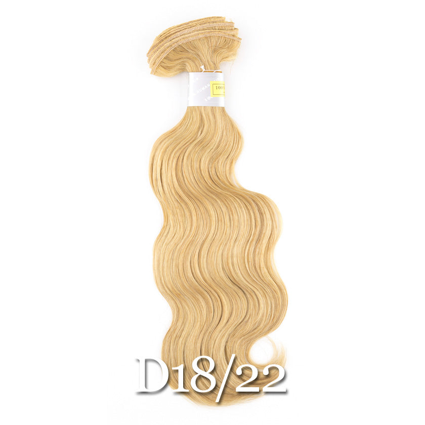 Bohyme Gold Collection European Body Remi 14 Extensions Abantu