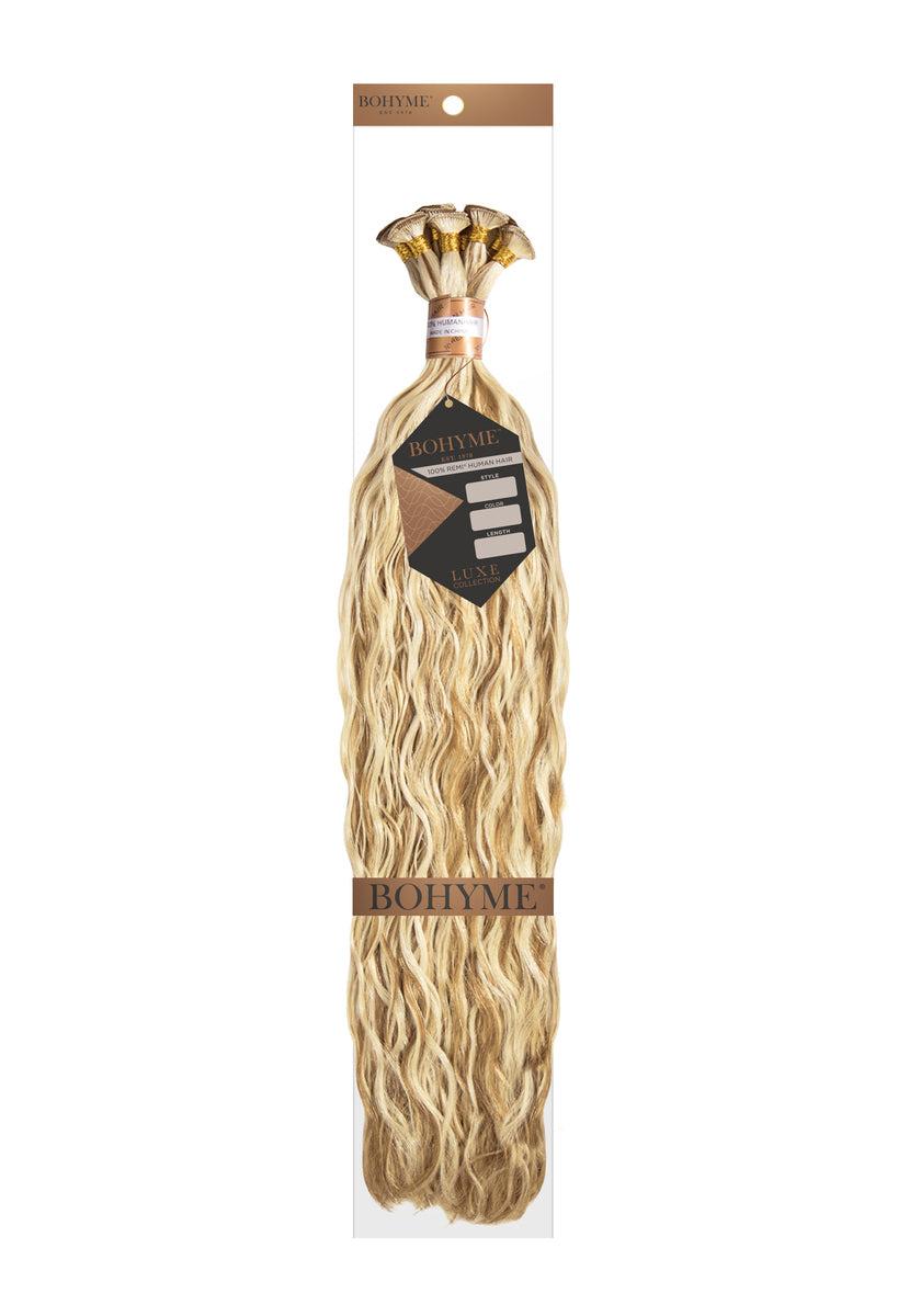 "Bohyme Luxe Hand-Tied French Refined 18"" Remi Extensions at Abantu"