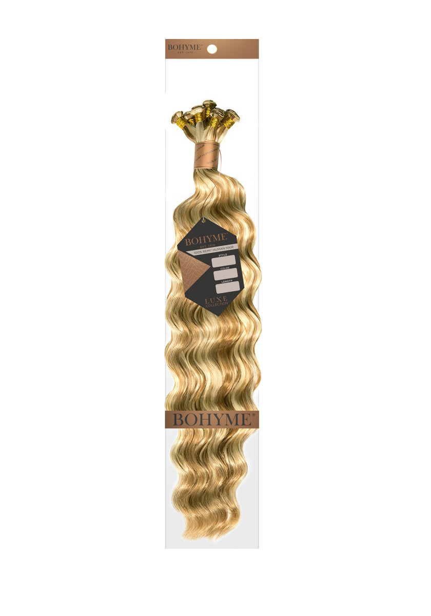 "Bohyme Luxe Hand-Tied Ocean Breeze 18"" Remi Extensions at Abantu"