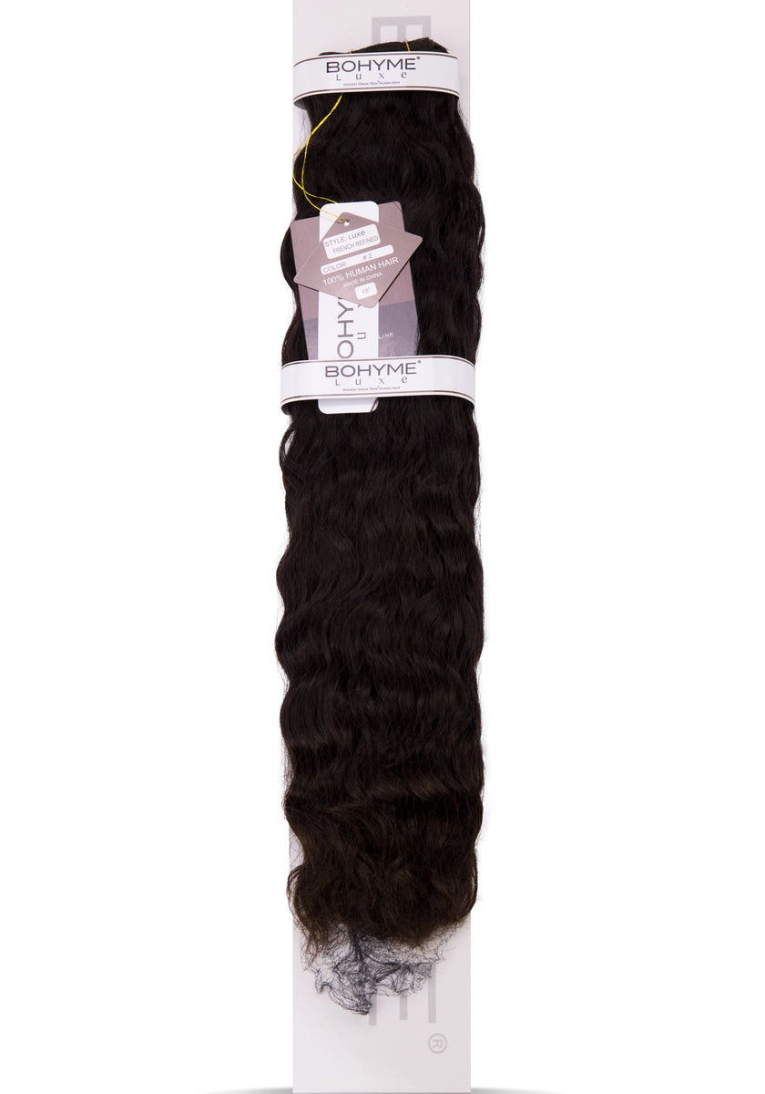 "Bohyme Luxe Brazilian Wave 12"" Remi Extensions at Abantu"