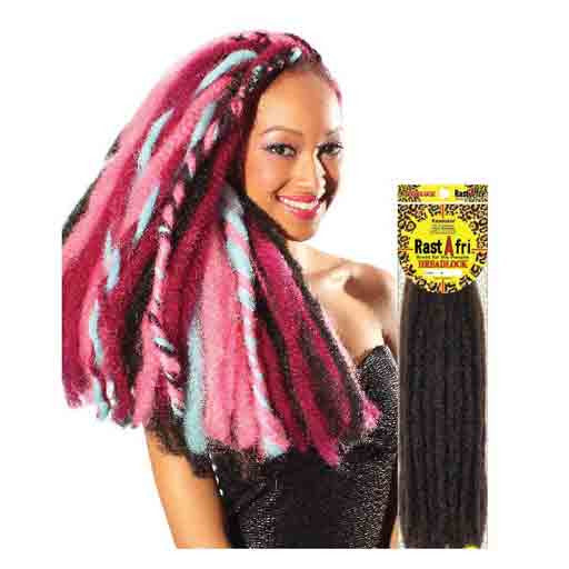 Fashion Source Rasta Afri Dreadlock Synthetic Extensions