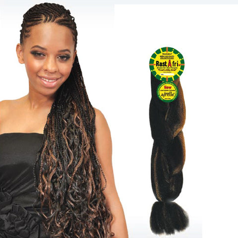 Fashion Source Rasta Afri Jumbo Braid Synthetic Hair