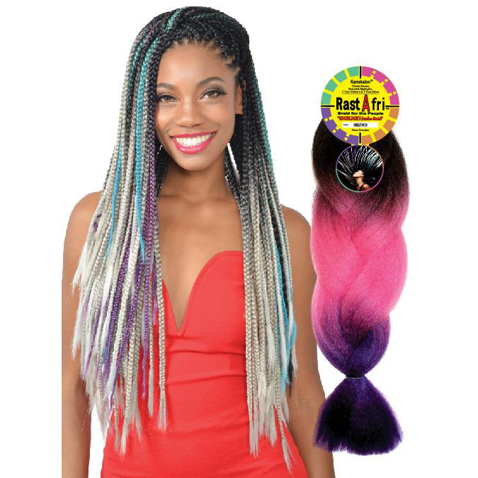 Fashion Source Rasta Afri Highlight Jumbo Braid extensions at Abantu