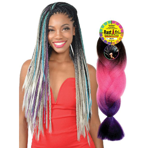 Fashion Source Rasta Afri Highlight Jumbo Braid Synthetic Hair
