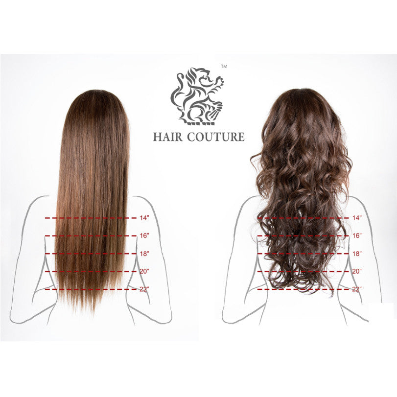 Hair Couture Lengths 7 Pc Clip In Remy 18 Extensions Abantu