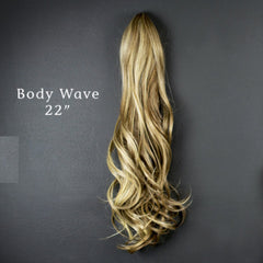 "Hair Couture Avanti Pony Clip Body Wave 22"" Extensions from Abantu"