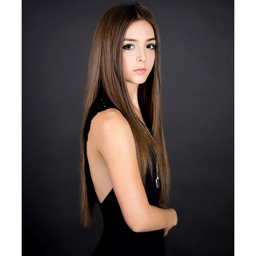 "Hair Couture U-Tip Fusion Remy Silky Straight 18"" Extensions"
