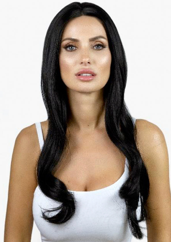 Illusionz Geneva Hand-tied Lace-front Synthetic Wig