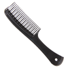 Magic Detangle Styling Comb (black) available at Abantu